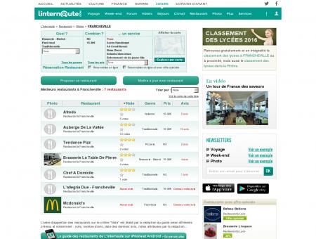 Restaurant Francheville : Le guide des...