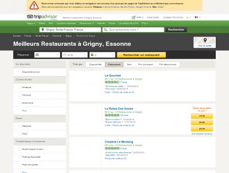 Les 10 meilleurs restaurants à Grigny -...
