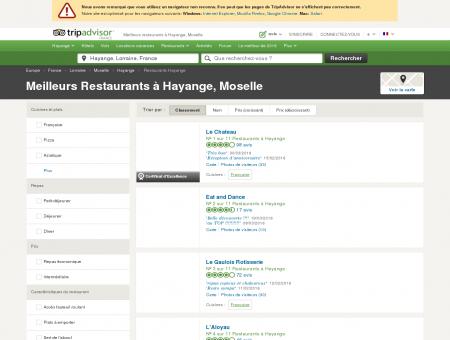 Les 10 meilleurs restaurants à Hayange -...