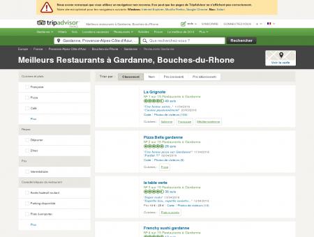 Les 10 meilleurs restaurants à Gardanne -...