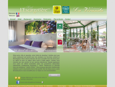 Accueil - Logis Hotel Dijon Sud restaurant...