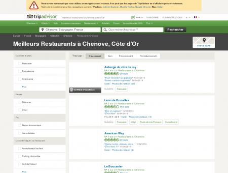 Les 10 meilleurs restaurants à Chenove -...