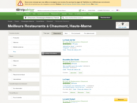 Les 10 meilleurs restaurants à Chaumont -...
