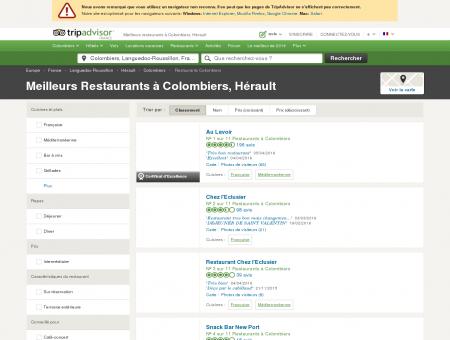 Les 5 meilleurs restaurants à Colombiers -...