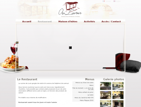 Restaurant Colombiers, au bord du Canal du...