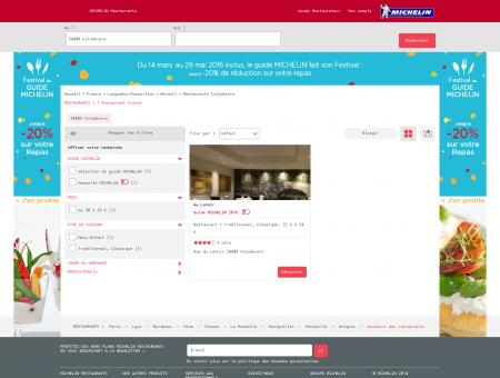 Restaurants 34440 Colombiers - MICHELIN...