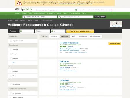 Les 10 meilleurs restaurants à Cestas -...