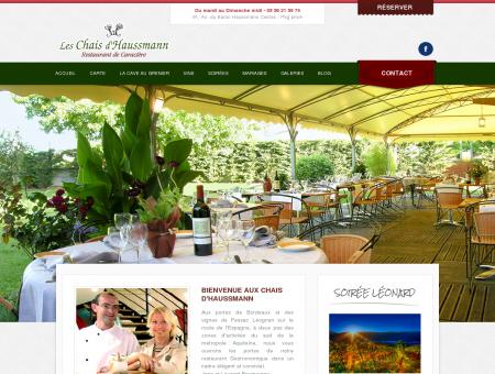 Les Chais d'Haussmann - Restaurant...