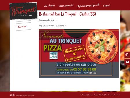 Restaurant-bar Le Trinquet - Cestas (33) -...