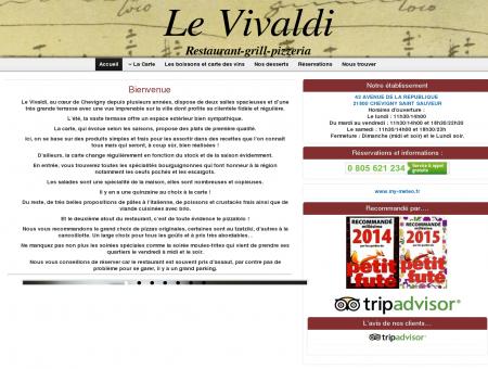 Restaurant Le Vivaldi Chevigny Saint Sauveur |