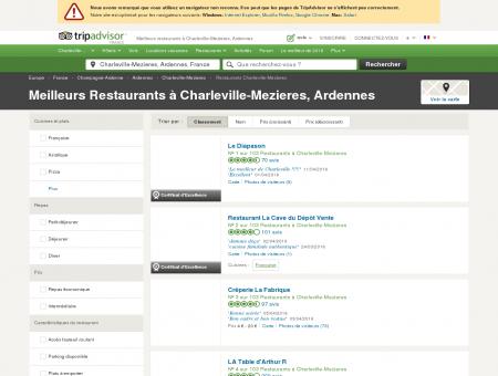 Les 10 meilleurs restaurants à Charleville...