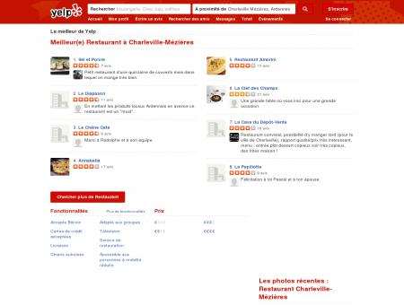 Restaurant à Charleville-Mézières - Yelp