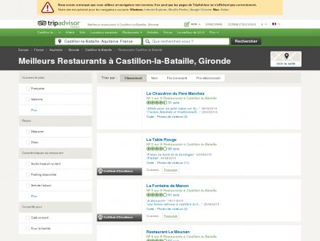 Les 5 meilleurs restaurants à Castillon-la...
