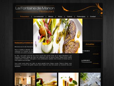 Restaurant La Fontaine de Manon