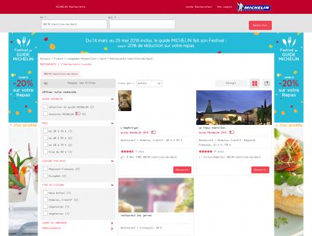 Restaurants 30210 Castillon-du-Gard -...