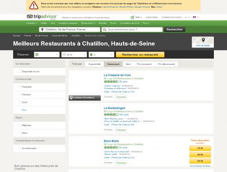 Les 10 meilleurs restaurants à Chatillon -...