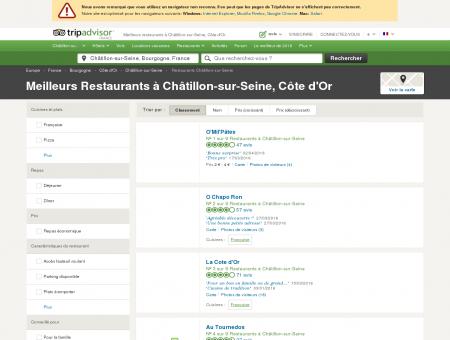 Les 10 meilleurs restaurants à Châtillon-sur...