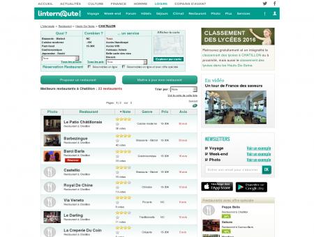 Restaurant Chatillon : Le guide des meilleurs...