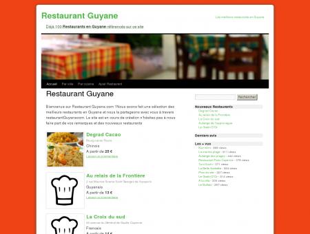 Restaurant Guyane