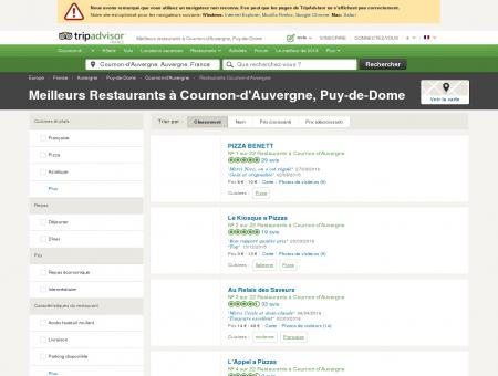 Les 10 meilleurs restaurants à Cournon...
