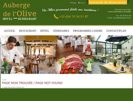 auberge de l'olive - hôtel restaurant banquets...