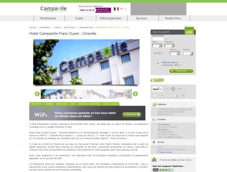 Hotel Campanile Paris Ouest - Chaville |...