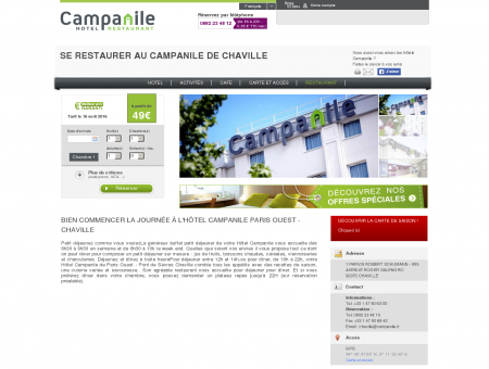 Restaurant | Hotel Campanile PARIS OUEST...