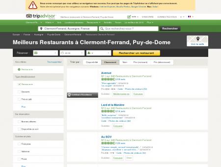 Les 10 meilleurs restaurants à Clermont...