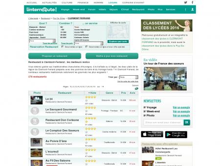 Restaurant Clermont Ferrand : Le guide des...