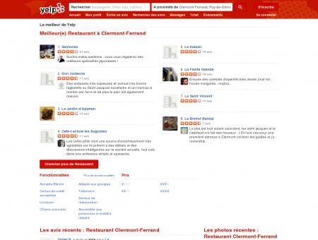 Restaurant à Clermont-Ferrand - Yelp