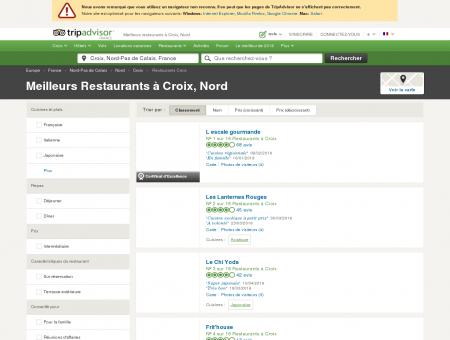 Les 10 meilleurs restaurants à Croix -...