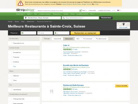 Les 10 meilleurs restaurants à Sainte-Croix -...