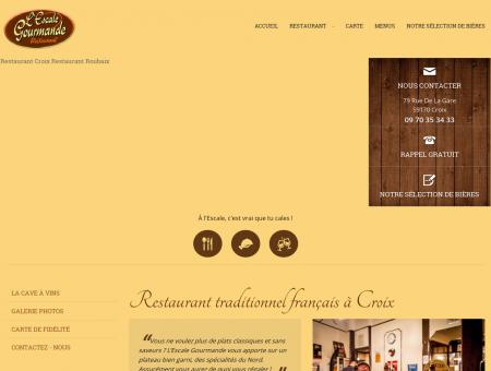 Restaurant traditionnel français à Croix