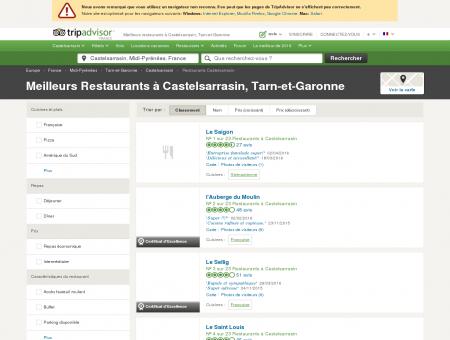 Les 10 meilleurs restaurants à Castelsarrasin -...
