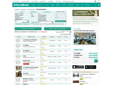 Restaurant Castelsarrasin : Le guide des...