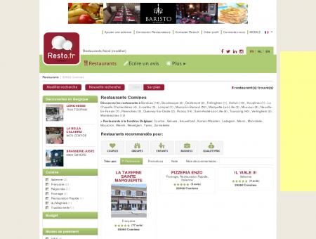Restaurant Comines - Guide Restaurants...