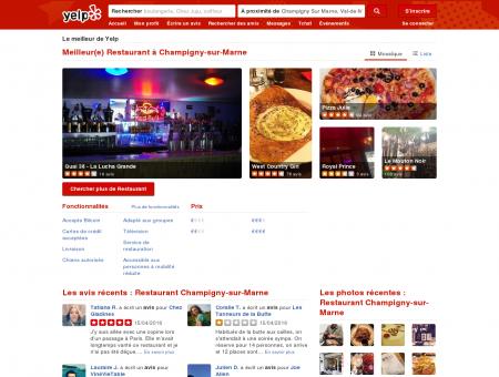 Restaurant à Champigny-sur-Marne - Yelp