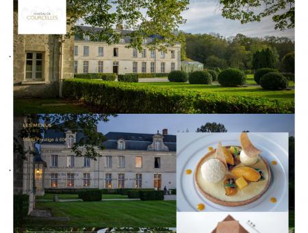 Les menus - Château de Courcelles