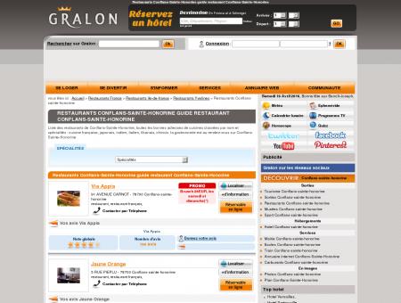 Restaurants Conflans-Sainte-Honorine guide...