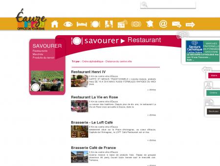 restaurant eauze