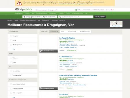 Les 10 meilleurs restaurants à Draguignan -...