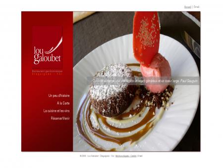 Lou Galoubet | Restaurant gastronomique et...