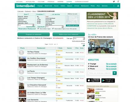Restaurant Chalons En Champagne : Le guide...