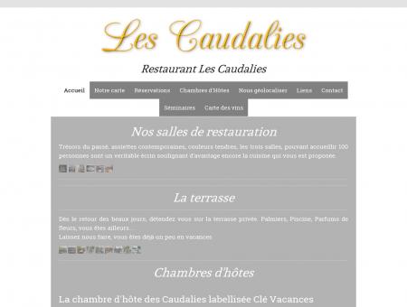 Restaurant Les Caudalies de Châlons en...