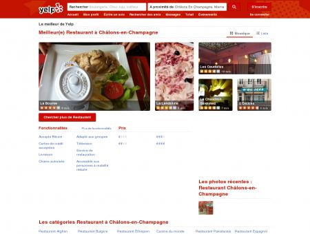 Restaurant à Châlons-en-Champagne - Yelp