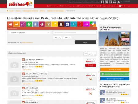 Restaurants Châlons-en-Champagne, le...