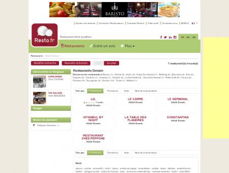 Restaurant Denain - Guide Restaurants...
