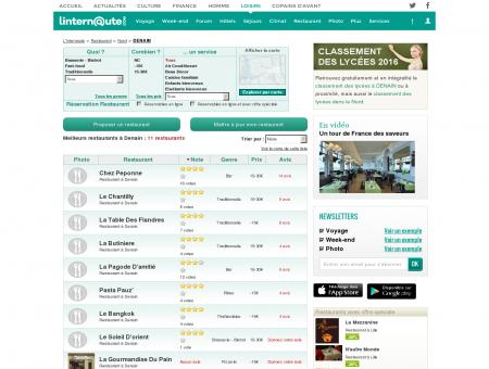 Restaurant Denain : Le guide des meilleurs...