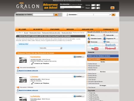 Restaurant Denain liste des Restaurants de...