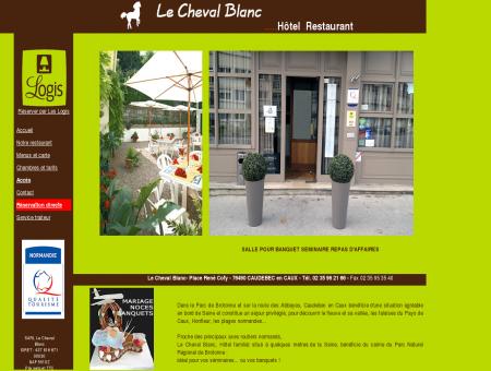 Le Cheval blanc | Hotel-Restaurant | Logis de...